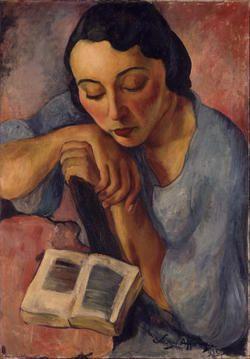 Sarah Affonso (1899-1983) – Retrato de Matilde (1932) Centro de Arte Moderna, Lisbonne