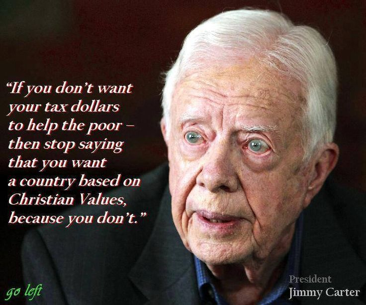 good ol' Jimmy Carter.