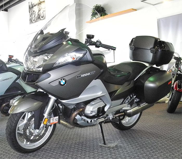 My new BMW R1200RT