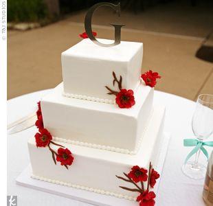 Cherry Blossom Wedding Cake By Cameo Cakes In Wichita KS