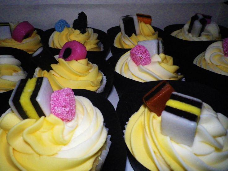 - Liquorice Allsorts Cupcakes // Sam Loves Cake -