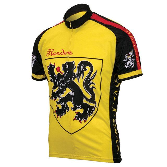 tour de france Team cycling jersey short sleeve ropa ciclismo cycling clothing 2015 yellow