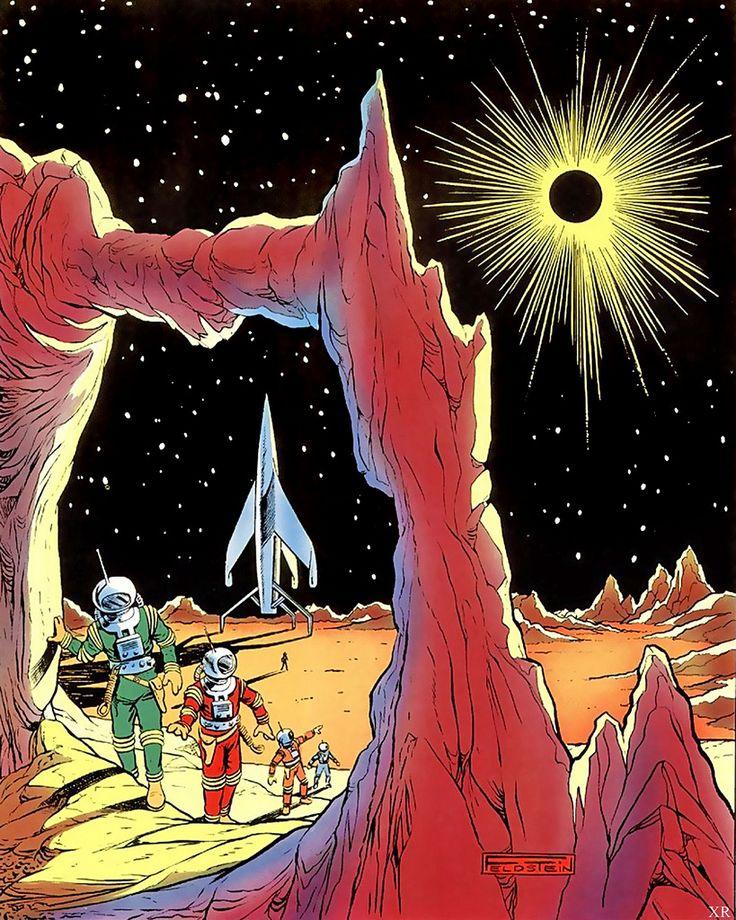 #art #scifi #illustration #space #vintage #retro