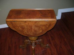 Antique  game table with overlay Cornwall Ontario image 2