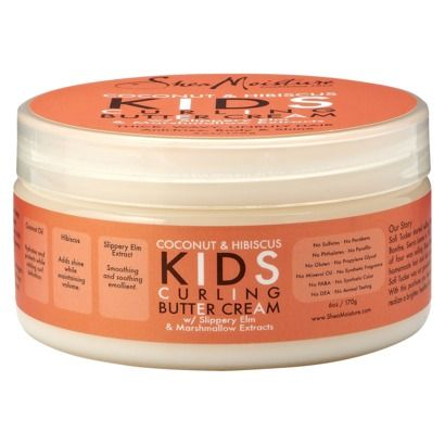 Coconut & Hibiscus Kids Curling Butter Cream  - Oh Natural Hair Product #2