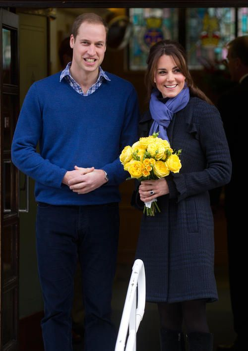 Kate Middleton Leaves Hospital With Prince William