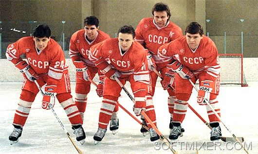 Soviet Hockey Team, 1970s
