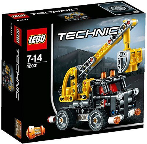 A bucket truck or a dump truck? The decision is yours with this LEGO Technic set that includes instructions on building both!...