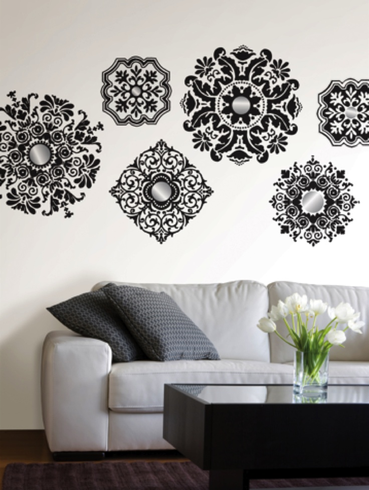 add spice without committing to the entire wall using wall decals from