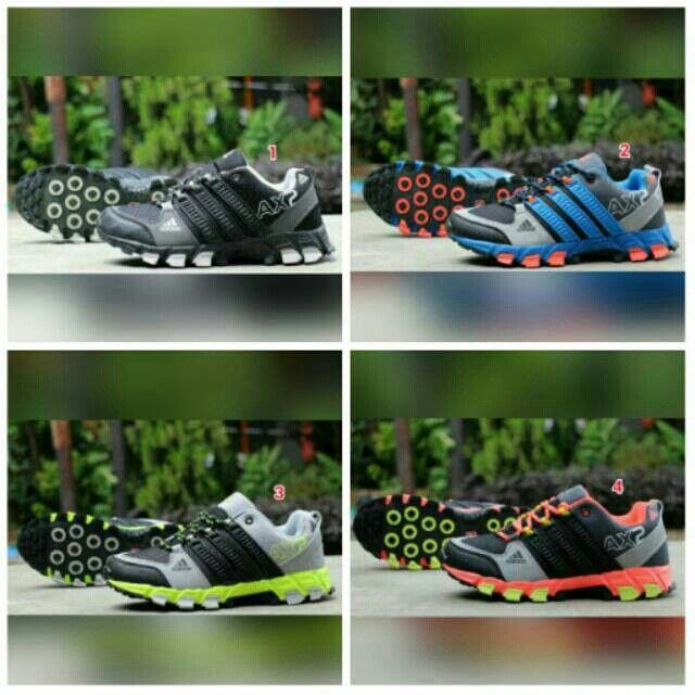 Saya menjual Sepatu ADIDAS AX2 Murah Perempuan Sport Wanita Jogging Kampus Kuliah Murah Gym Senam Aerobik Sekolah seharga Rp269.000. Pin:331E1C6F  WA/SMS: 085317847777 LINE: Sepatu Aneka Model www.butikfashionmurah.com Dapatkan produk ini hanya di Shopee! https://shopee.co.id/sepatu_dan_jam_tangan/14279843 #ShopeeID