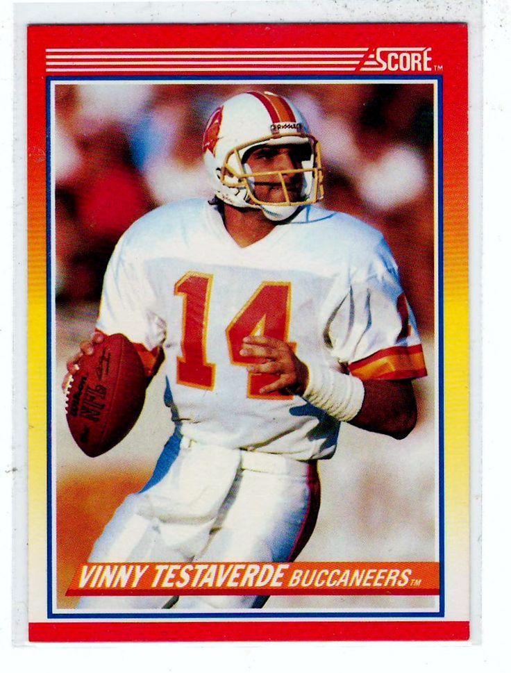 Sports Cards Football - 1990 Score Vinny Testaverde