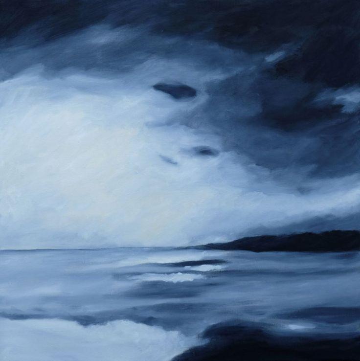 #oilpainting #cavas #sea #landscape #artcontemporain #art