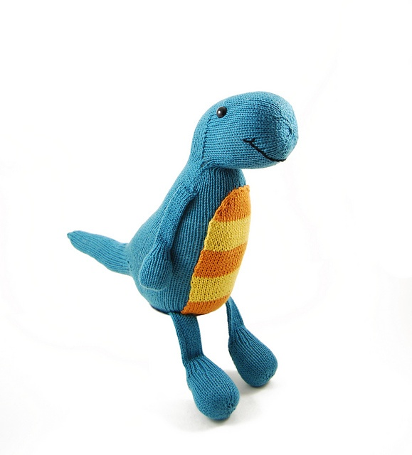Ravelry: Terence the Tap Dancing T-Rex pattern by Rebecca Danger