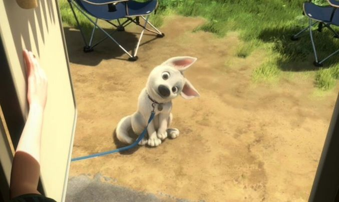 Disney's Guide for Dog Lovers. BOLT: The One Who'll Get Us To Do Anything With That Puppy Face. He looks just like Ghost!
