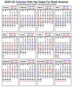 Printable Islamic 2020 Calendar Hijri Calendar 1441 Printable Calendar Diy Hijri Calendar Islamic Holidays Calendar
