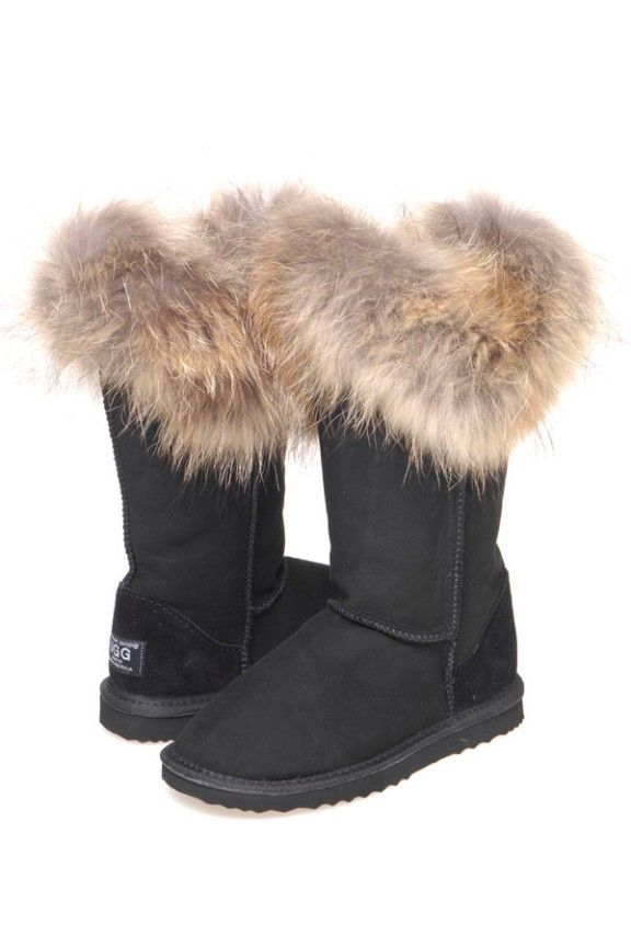 Top Foxy Long Top Foxy Long Ugg Boots are made from Australian sheepskin.Foxy fur trimming on the top to complement Ugg boot.Great Long Fashion boots
