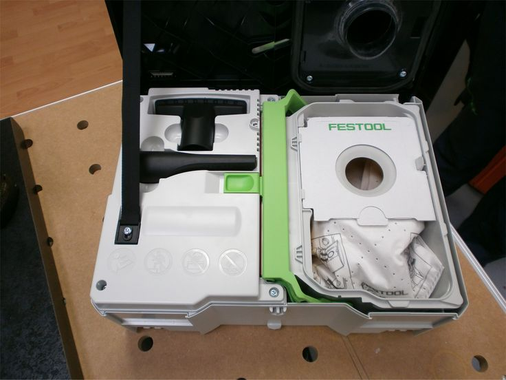 New Festool CTL SYS Systainer case and Dust Extractor in one! With attachments