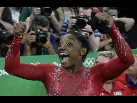 ''Rio Olympic 2016: Simone Biles Wins Olympic Gold in Vault in First for U S '' Rio Olympic 2016: Simone Biles Wins Olympic Gold in Vault in First for U S  Rio Olympic 2016: Simone Biles Wins Olympic Gold in Vault in First for U S    American Simone Biles added a third gold medal to her haul in Rio easily winning the womens vault final Sunday afternoon. The 19-year-old averaged 15.966 during her two vaults well clear of silver medalist Maria Paseka of Russia and bronze medalist Giulia…
