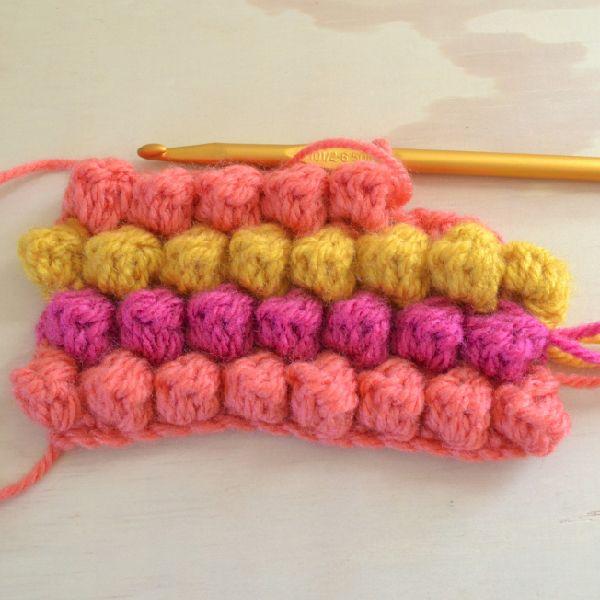 Puff or Bobble Stitch Crochet Tutorial by Dream a Little Bigger.