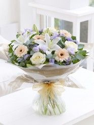 Soft Pastels Hand-tied