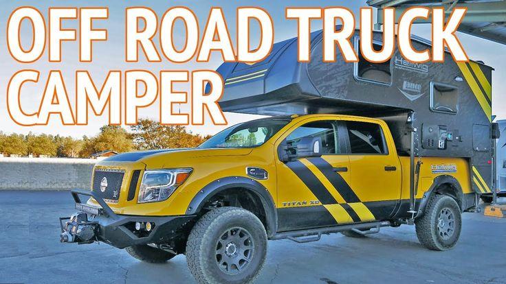 Ultimate 4x4 Off Road Truck Camper | Lance Camper Concept Vehicle