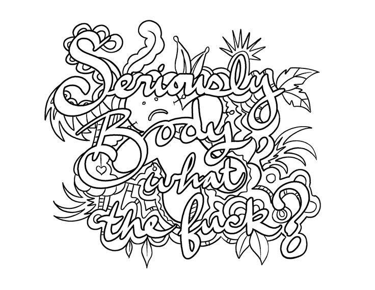 Coloring Page By Colorful Language C 2015