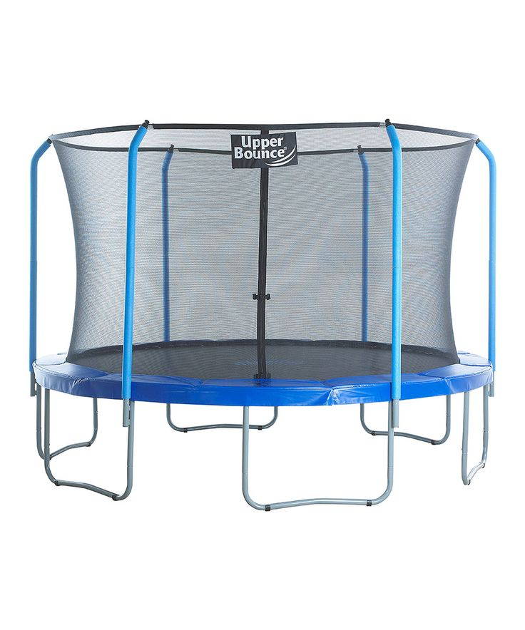 Upper Bounce Skytric 15' Trampoline Set by Upper Bounce #zulily #zulilyfinds