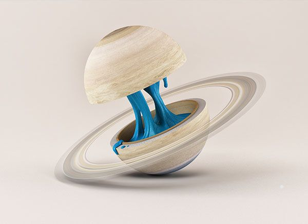 Planetary Anatomy by FOREAL™ , via Behance