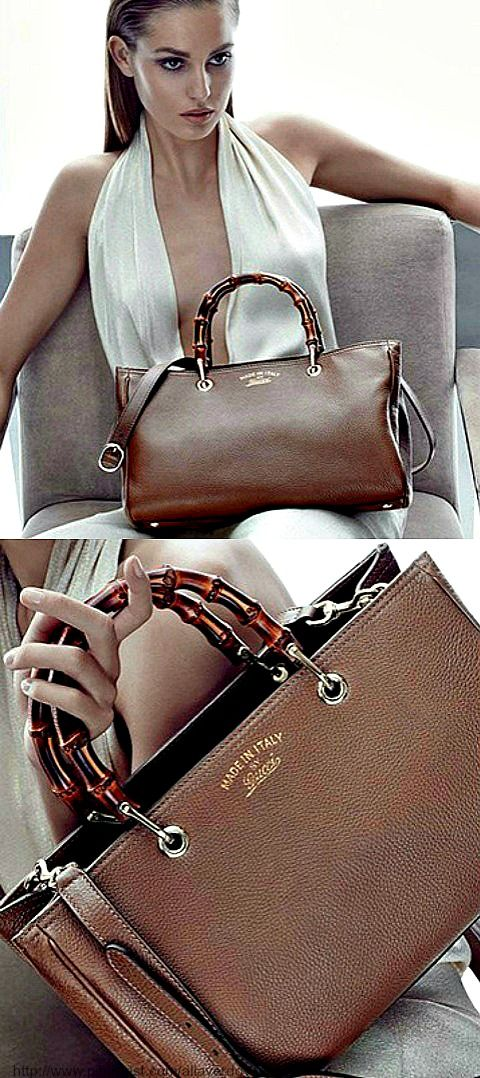 Baby!! The bamboo tote with ! Gucci