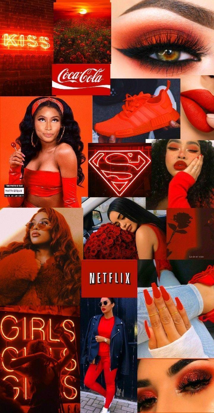 Girl In Red Aesthetic Wallpaper Girl In Red Aesthetic Redaesthetic Red Aesthetic Red Wallpaper Pastel Aesthetic