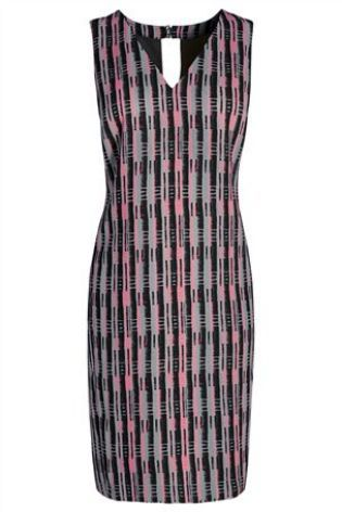 Pink Printed Dress from Next