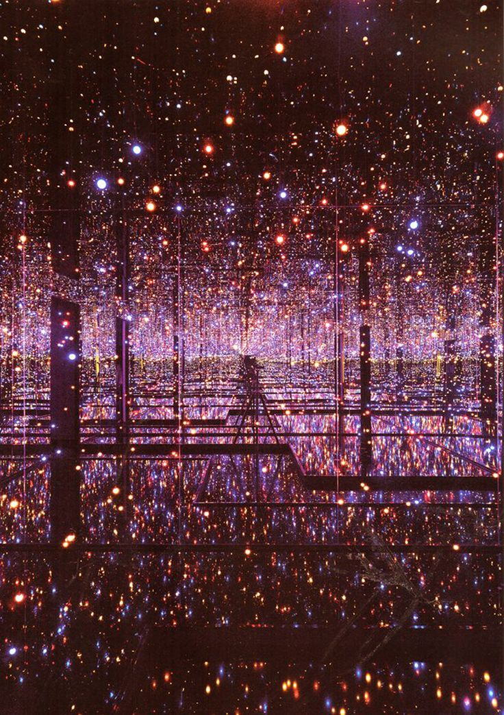 Patternity_Infinite Galaxy Reflections_yayoi kusama