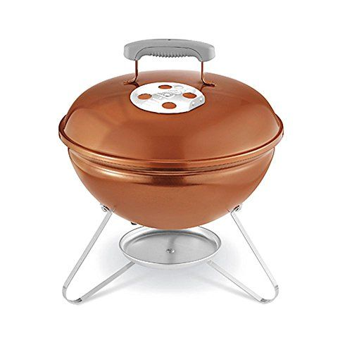 Weber Smokey Joe Portable BBQ Grill  Copper -- You can find out more details at the link of the image.(This is an Amazon affiliate link)