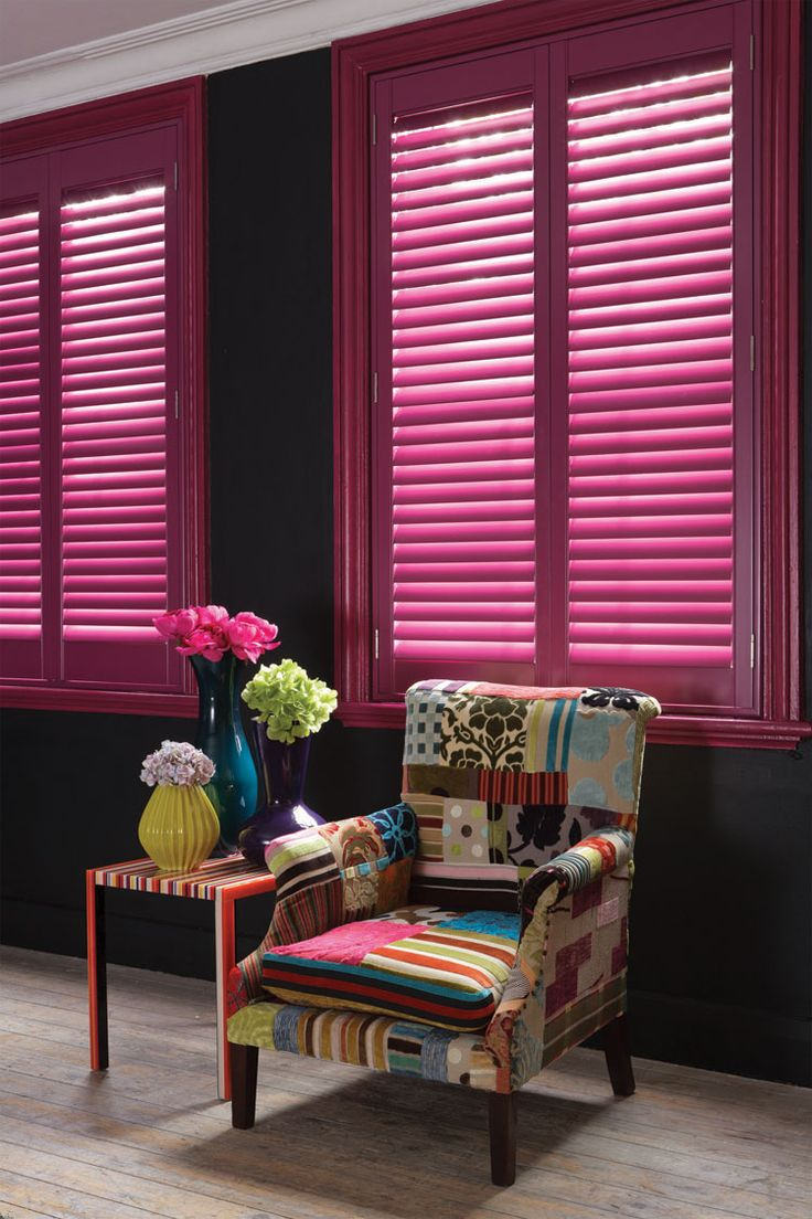 Bright And Bold Shutters