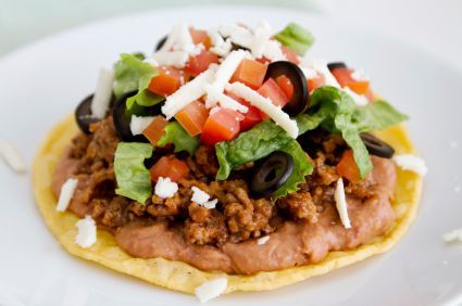 A Mexican pizza recipe that's actually healthy!