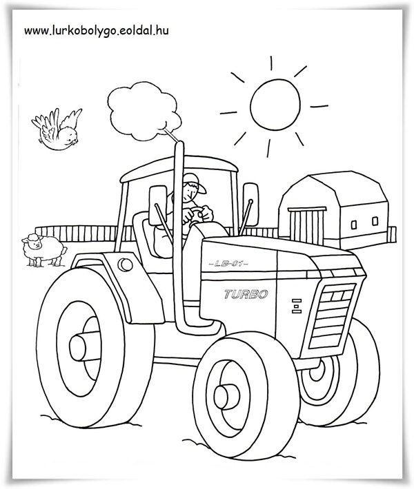 Ausmalbilder Kleiner Roter Traktor Ausmalbilder Kleiner Roter Traktor Coloring Books Coloring Pictures Art