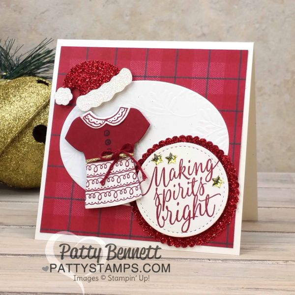 Custom Tee Christmas card - Occasions catalog sneak peek!