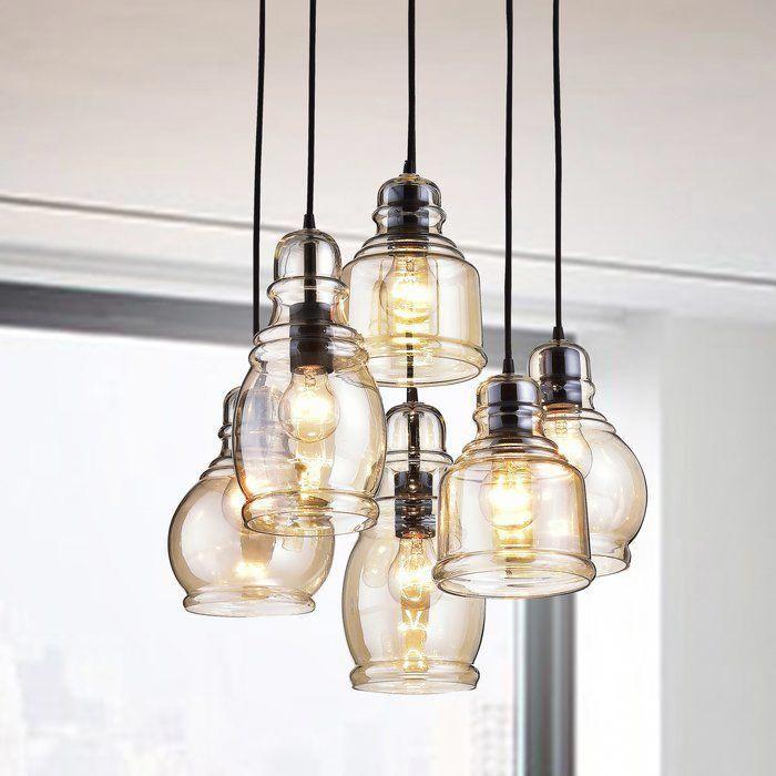 Pruett 6 Light Cluster Bell Pendant Pendant Lighting Pendant