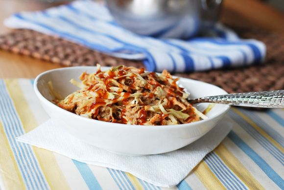 BBQ Chx Cole Slaw | Everyday Foods | Pinterest
