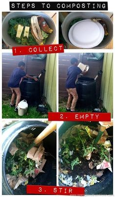 Simple DIY Composting Idea Box by Tyesha T