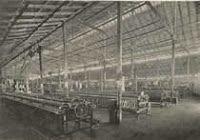 Fabrica de tejidos Obregon en Barranquilla 1910.