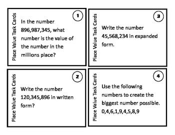 17 best images about place value on pinterest math notebooks place value worksheets and place. Black Bedroom Furniture Sets. Home Design Ideas