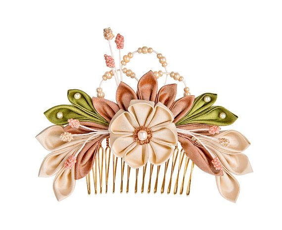 It's all about the small details! The traditional Tsumami Kanzashi technique is the essence of Japanese aesthetics
