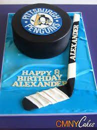 hockey stick birthday cake - Google Search