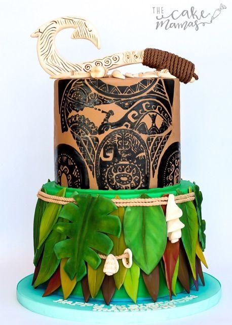 Best Disney Themed Cakes Images On Pinterest Disney Cakes - Maui birthday cakes