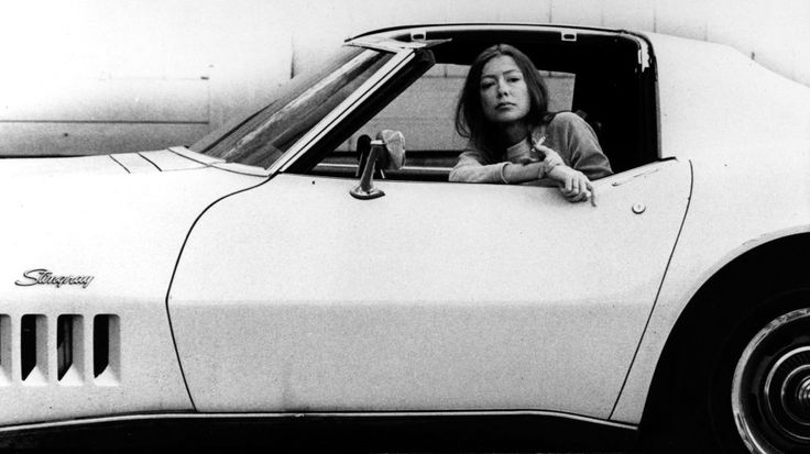 """Joan Didion  """"Didion once said,'Grammar is a piano I play by ear.' Her ability to put words together and choose relevant subject matter feels effortless. Joan Didion is authentic, the real deal and unapologetically herself and I'll gladly read her any day of the year."""" Getty Image"""