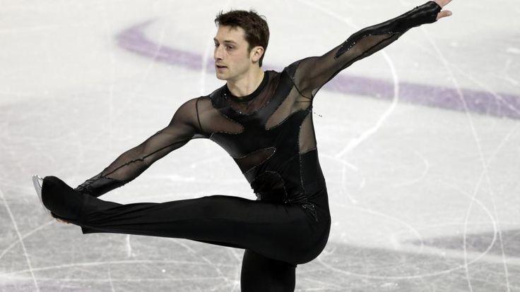 Ice skating - Le patineur français Brian Joubert lors du programme court des Mondiaux-2013, à London  (880×495)