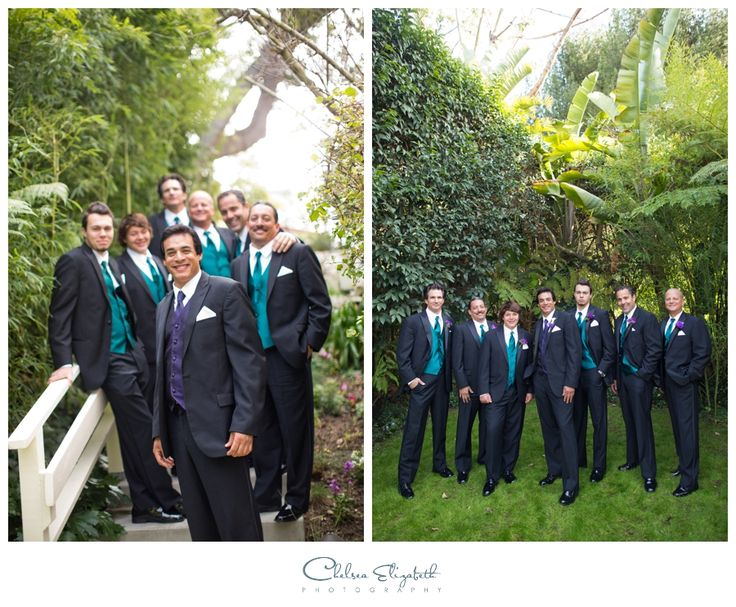 Purple & Teal Wedding | La Venta Inn - Palos Verdes Estates, CA Wedding | Outdoor Wedding | By: Chelsea Elizabeth Photography | chelseaelizabeth.com