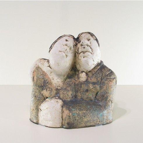 Sjer Jacobs paartje keramiek - Kunst