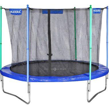 Hudora fitness trampoline 300 trampoline  Springplezier in de tuin voor groot en klein. Met deze trampoline met een supergrote doorsnede van 300 cm kan je supersprongen maken. Het zwarte springdoek is met 60 spiraalveren bevestigd. De stabiele U-voeten zorgen voor extra...  EUR 243.95  Meer informatie  #blokker